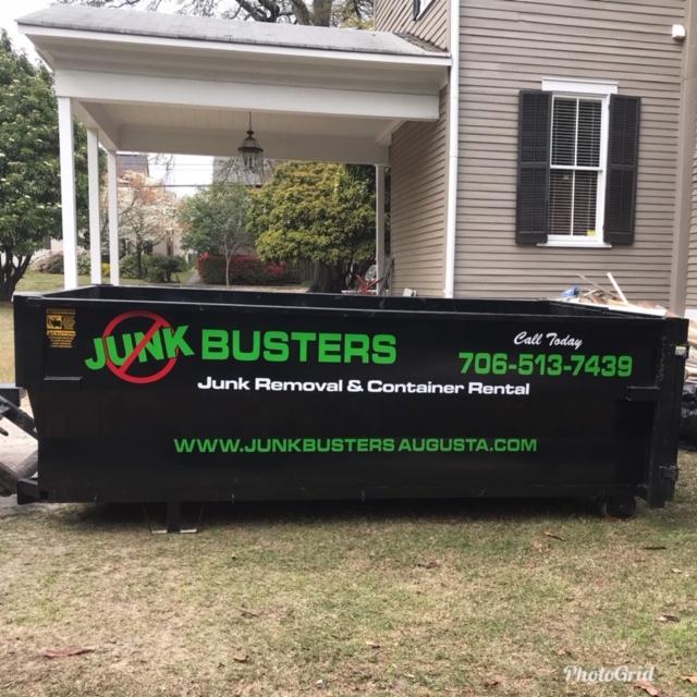 junk busters dumpster rental